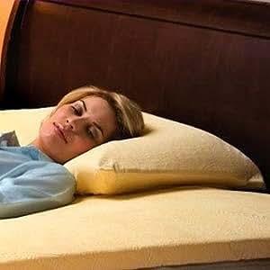 "2 (Twin Pack) x Anti Allergy ""ULTRAFRESH"" Treated Memory Foam Pillows, Guenine SERENITY VISCO 5000 Branded Item"