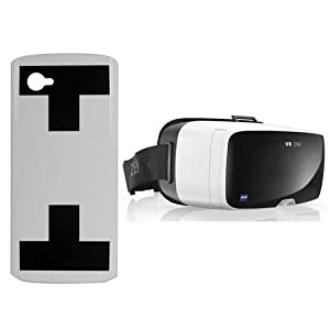 Zeiss VR ONE Virtual Reality Headset - Bundle With Zeiss VR ONE Smartphone Tray for iPhone 6