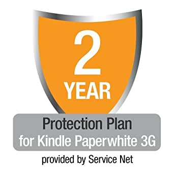 2-Year Protection Plan plus Accident Coverage for Kindle Paperwhite 3G (Previous Generation)