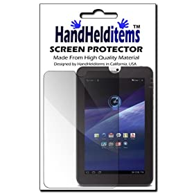 HHI Toshiba Thrive Anti-Fingerprint, Anti-Glare, Matte Finishing Screen Protector 10.1 TouchScreen AT105 (Package include a HandHelditems Sketch Stylus Pen)