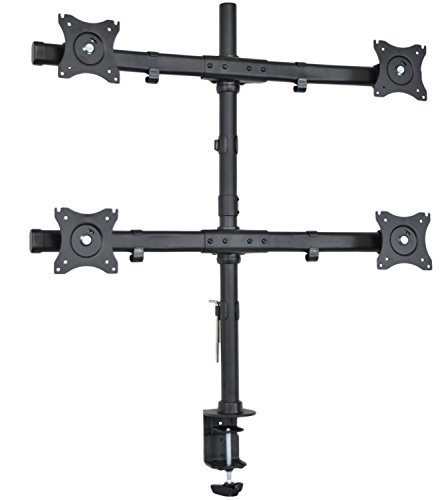 vivo-quad-monitor-heavy-duty-desk-mount-adjustable-stand-4-lcd-screens-up-to-27-stand-v004e-by-vivo