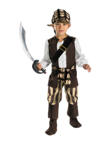 kids costumes - Rogue Pirate Kids Costume 4-6