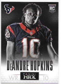 DeAndre Hopkins 2013 Panini Prizm HRX Rookies Houston Texans Insert Card #8