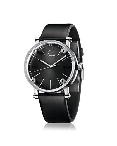 Calvin Klein Men's K3B2T1C1 Congent Analog Display Swiss Quartz Black Watch