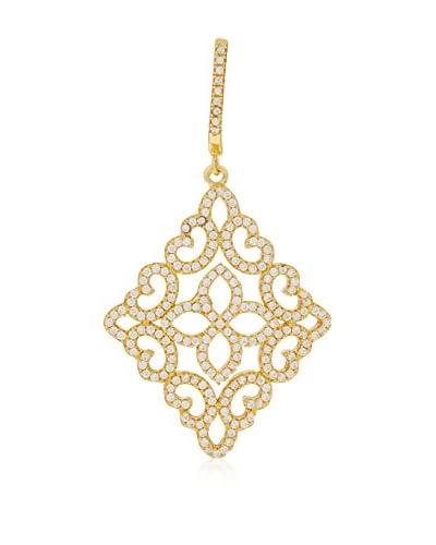 ANDREA BELLINI Orecchini Arabesque Lumineuse argento 925 bagnato oro