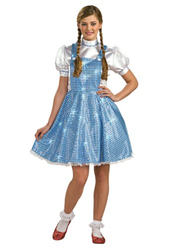 Womens Sequin Dorothy Costume Standard