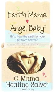 Earth Mama Angel Baby C-Mama Healing Salve, 1-Ounce