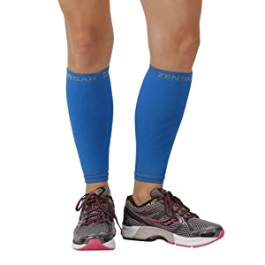 Zensah Compression Leg Sleeves - XS/Small - Pink