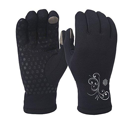TrailHeads Women's Power Stretch Running Gloves