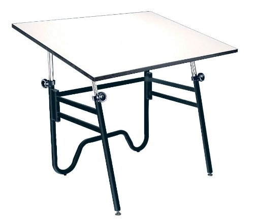 Folding Drafting Table front-1004153