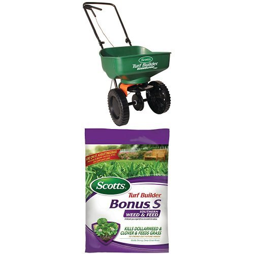 Find Cheap Scotts Florida Weed & Feed Spreader Bundle