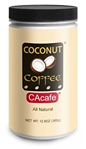 Jar of Coconut Coffee from CAcafe Inc.