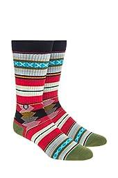 Stance Men\'s Guadalupe Socks, Black, L