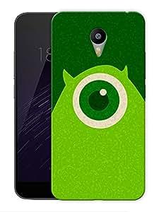 "Monster Minimal Printed Designer Mobile Back Cover For ""Google Infocus M2 Note"" By Humor Gang (3D, Matte Finish, Premium Quality, Protective Snap On Slim Hard Phone Case, Multi Color)"