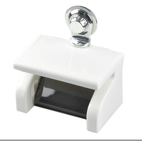 Super Strong Suction Cup Waterproof Roll of Paper Towel Rack Bathroom Accessories Sets/tissue Holder