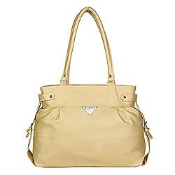 Glory Fashion Women's Stylish Handbag Cream-AK-403