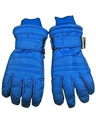 Winter Warm-Up - Big Boys Ski Gloves, Royal 33080-Medium