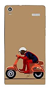 UPPER CASE™ Fashion Mobile Skin Vinyl Decal For Xolo A1000s [Electronics]