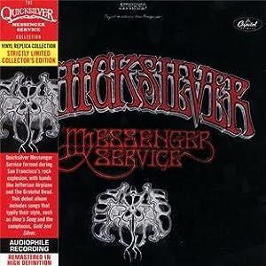 Quicksilver Messenger Service - Paper Sleeve - CD Vinyl Replica Deluxe