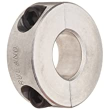 Ruland Two-Piece Clamping Shaft Collar, Aluminum