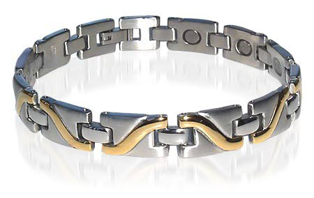 New Stainless Steel Magnetic Therapy Bracelet 8 Inches