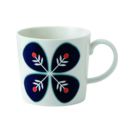 Royal Doulton Fable Garland Flower Accent Mug, White
