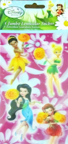 Disney Fairies 1 Jumbo Lenticular Sticker - 1