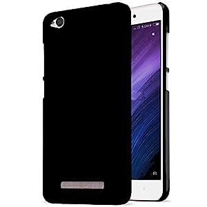 Vibhar Hard Plastic Matte Black Case for Redmi 4a