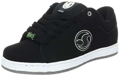 DVS Men's Mastiff Skate Shoe,Black Nubuck,5 M US