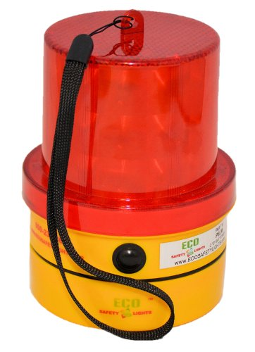 P8LM LED Portable Safety Lights Personal Hazard Light (RED) (Portable Hazard Lights compare prices)
