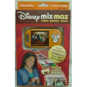 Disney Mix Max High School Musical Movie & MP3 Player disney mix max high school musical movie