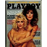 Playboy April 1985 Hot! Smith Sisters Sexy!! ~ Playboy
