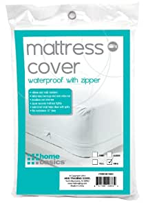 Amazon Home Basics Zippered Mattress Cover King
