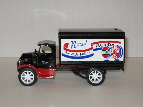 scale-models-die-cast-truck-model-gf-8000-4-in-a-series-1935-mack-truck-bank-with-amoco-freight-logo