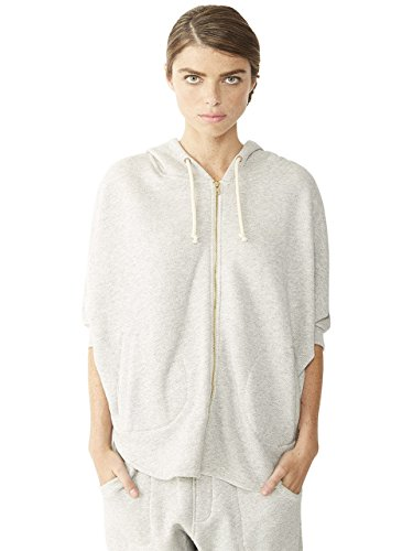 alternative-womens-eco-heavy-french-terry-shirt-tail-cape-wheat-large
