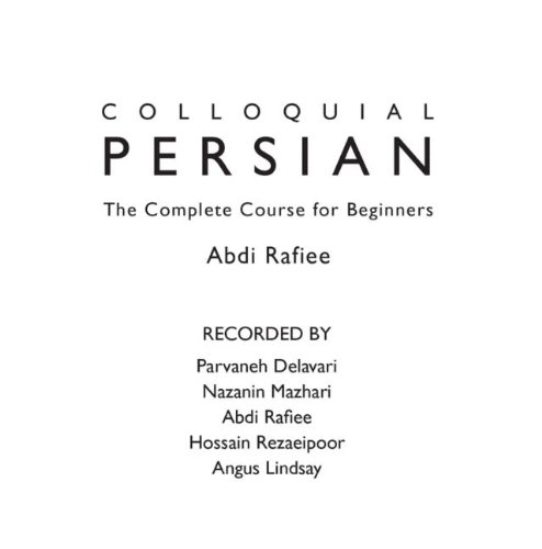 Colloquial Persian (Colloquial Series)