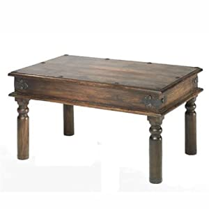 Jali Sheesham Thakat Coffee Table (60x90x46)   Indian Wood Furniture       Customer review and more information