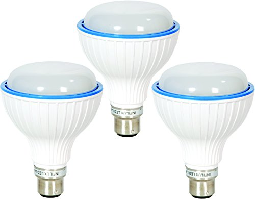 5W B22 LED Bulb (Cool White Pack of 3)