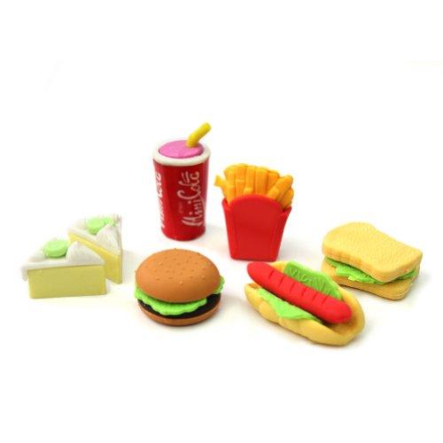 rhx-set-de-6-gommes-pour-enfant-en-forme-de-nourriture