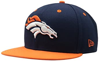 NFL Denver Broncos Two Tone 59Fifty Fitted Cap by New Era