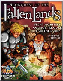 Conquest of the Fallen Lands - Buy Conquest of the Fallen Lands - Purchase Conquest of the Fallen Lands (Assa Games, Toys & Games,Categories,Games,Board Games)