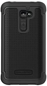 Ballistic SG1233-A065 Shell Gel for LG G2 - Verizon- Retail Packaging - Black/Black
