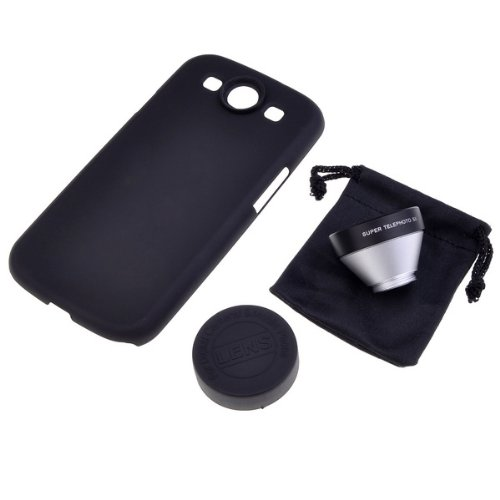 Neewer 5X Super Telephoto Camera Lens Back Cover Case For Samsung Galaxy S3 Siii Gt-I9300