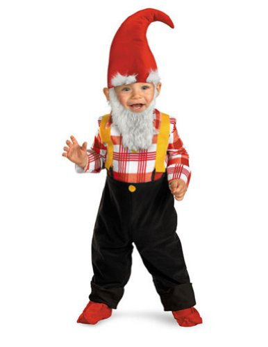 Garden Gnome Toddler Costume 12-18 Mth - Toddler Halloween Costume