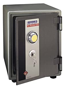 Brink 39 s home security 5055 1 hour steel fire safe for Brinks home security