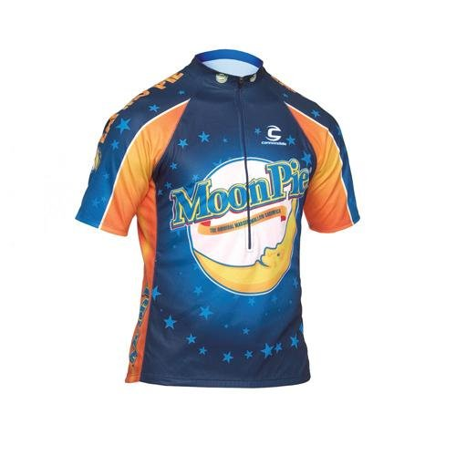 Amazon.com : Cannondale Men's Cycling Jersey (Moonpie, Small) : Sports