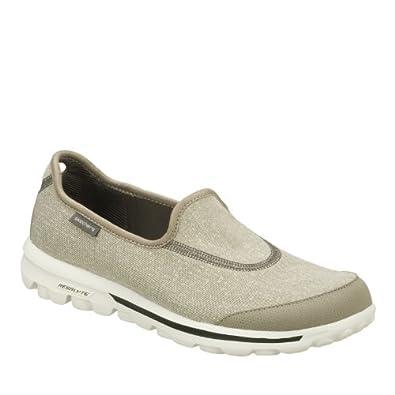 Skechers Womens Go Walk Gray Extra Wide 13510EW/GRY Womens 7.5