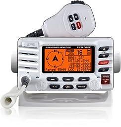 GX1700W Standard Explorer GPS White Class D 25 Watt VHF