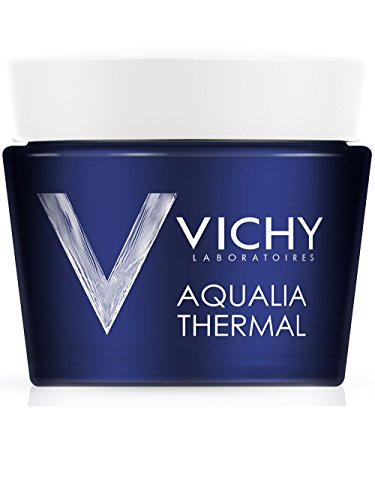 Aqualia Thermal Trattamento notte di Vichy, Crema Viso Donna - Vasetto 75 ml