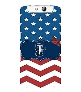 EPICCASE American Flag Mobile Back Case Cover For OPPO N1 (Designer Case)
